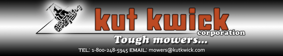 Kut Kwick Corporation | Steep Slope Mowing Tractors