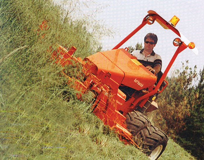 Superslopemaster Commercial Land Clearing Slope Mower