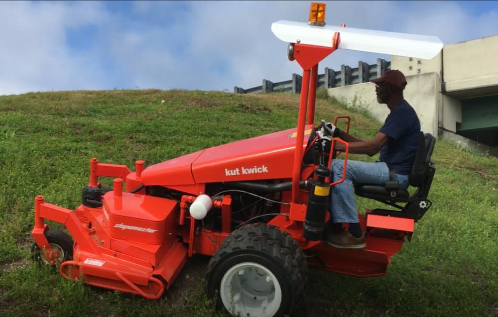 Hillside mowers, all terrain mower, best ride on mower for slopes, sloping lawn, hills, zero turn mower