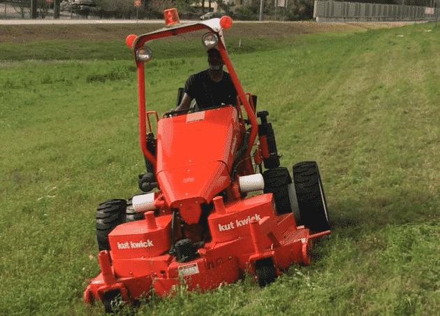 Steep slope mower, heavy duty mowers, best mower for slopers, hills, steep banks, uneven terrain, mowing
